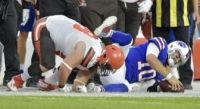 QB scramble: McCarron injured as Bills down Browns 19-17