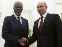 Vladimir Putin, Kofi Annan