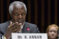 The Latest: Kofi Annan's homeland of Ghana shaken by death