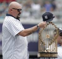 Yankees celebrate 1998 World Series championship team