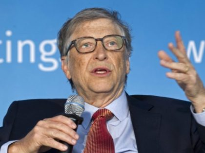In this April 21, 2018, file photo, Co-Chair of Bill & Melinda Gates Foundation Bill Gates speaks in Washington, D.C. Gates is taking a more targeted approach in his goal to help America's struggling school systems, this time by largely funding familiar groups to work directly with public school districts …