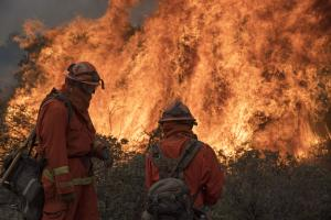 California wildfires: 6th firefighter killed by state's largest blaze