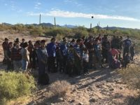 Border Patrol agents apprehend 264 migrants in the Tucson Sector near the Lukeville Port of Entry. (Photo: U.S. Border Patrol/Tucson Sector)