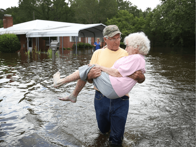 Tropical Depression Florence on Monday continues to lash the Carolinas …