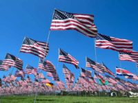 9/11 flag memorial