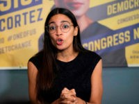 Alexandria Ocasio-Cortez: War on Climate Change Like Fighting Nazis