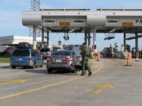 Border Patrol agents inspect cars at immigration checkpoint. (AP File Photo)