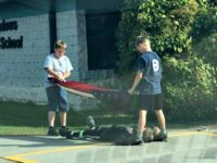 PHOTO: Idaho Boys Go to Great Lengths to Protect U.S. Flag