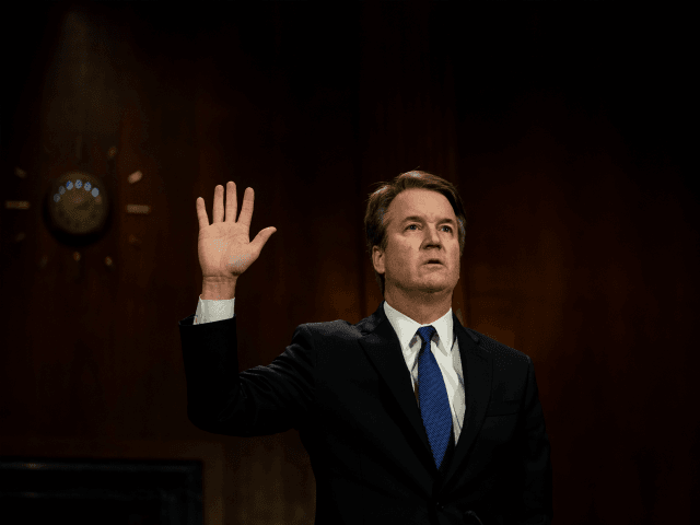 Judge Brett M. Kavanaugh was sworn in to testify. The Senate Judiciary Committee holds a hearing for Dr. Christine Blasey Ford to testify about sexual assault allegations against Supreme Court nominee Judge Brett M. Kavanaugh at the Dirksen Senate Office Building on Capitol Hill Thursday, September 27, 2018. Blasey Ford, …