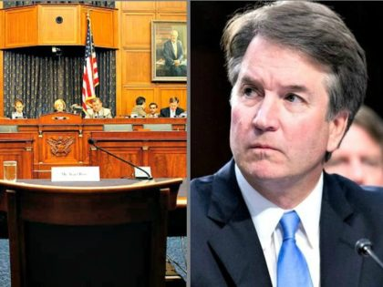 Brett-Kavanaugh-Empty Witness Chair