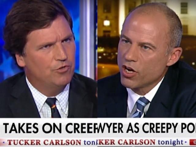 Watch: Carlson, Avenatti Clash Over Daniels, Trump | Breitbart