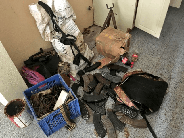 Sinaloa Cartel Weapons Arsenal Seized in Mexican Border City
