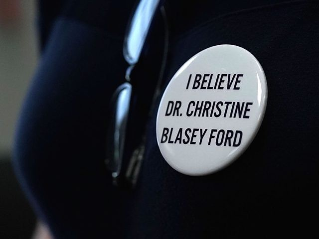 Christine Blasey Ford button