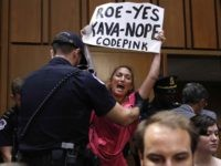 Code Pink protest Kavanaugh (Jacquelyn Martin / Associated Press)