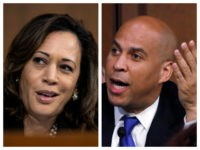 Combo of Sens. Kamala Harris and Cory Booker using delay tactics at Brett Kavanaugh's confirmation hearing
