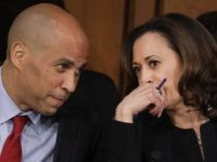 Cory Booker and Kamala Harris (Drew Angerer / Getty)