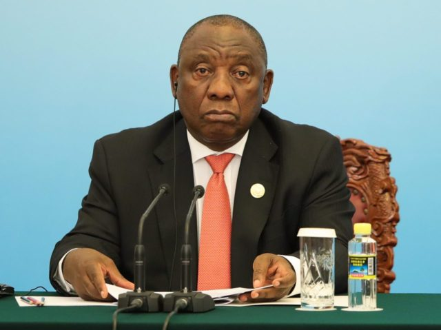 Cyril Ramaphosa (Lintao Zhang / Getty)