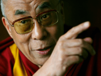 The Dalai Lama addresses journalists at his hotel in London on May 23, 2008. Prime Minister Gordon Brown held 'very warm and constructive' talks with the Dalai Lama Friday, his office said, pledging Britain's full support towards a rapprochement between Tibet and China. The 25-minute meeting -- held at the …