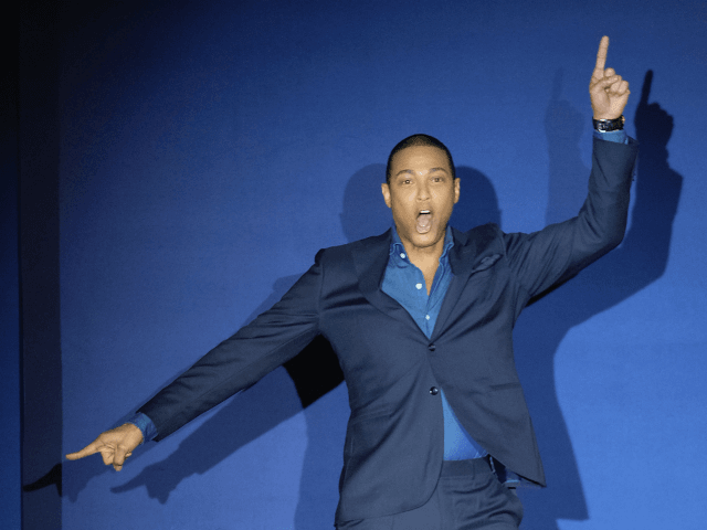 Don Lemon walks the runway at the Inaugural Blue Jacket Fashion Show to benefit Prostate Cancer Foundation at Pier 59 Studios on February 1, 2017 in New York City. (Photo by D Dipasupil/Getty Images for Prostate Cancer Foundation)
