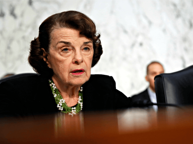 Sen. Dianne Feinstein, D-Calif., the ranking member on the Senate Judiciary Committee, speaks as President Donald Trump's Supreme Court nominee, Brett Kavanaugh testifies before the Senate Judiciary Committee on Capitol Hill in Washington, Thursday, Sept. 6, 2018, for the third day of his confirmation to replace retired Justice Anthony Kennedy.