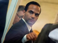 Foreign policy advisor to US President Donald Trump's election campaign, George Papadopoulos goes through security at the US District Court for his sentencing in Washington, DC on September 7, 2018. (Photo by ANDREW CABALLERO-REYNOLDS / AFP) (Photo credit should read ANDREW CABALLERO-REYNOLDS/AFP/Getty Images)