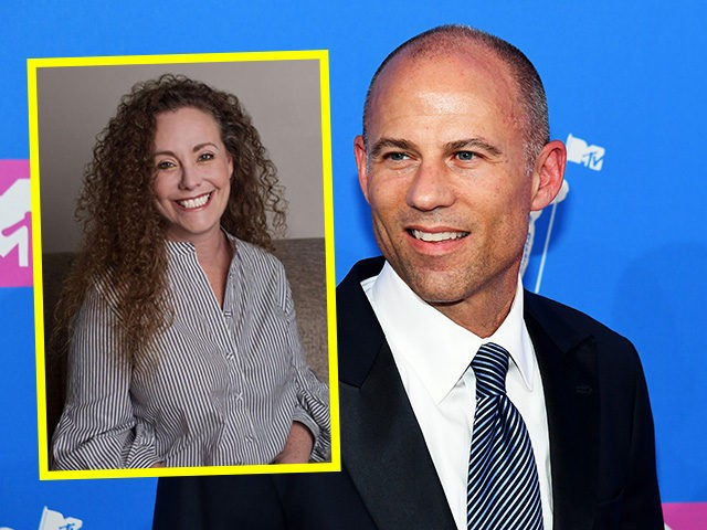 (INSET: Julie Swetnick) NEW YORK, NY - AUGUST 20: Michael Avenatti attends the 2018 MTV Video Music Awards at Radio City Music Hall on August 20, 2018 in New York City. (Photo by Nicholas Hunt/Getty Images for MTV)