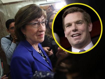 'Boo Hoo Hoo': Democrat Eric Swalwell Mocks Threats Against Sen. Collins' Staff