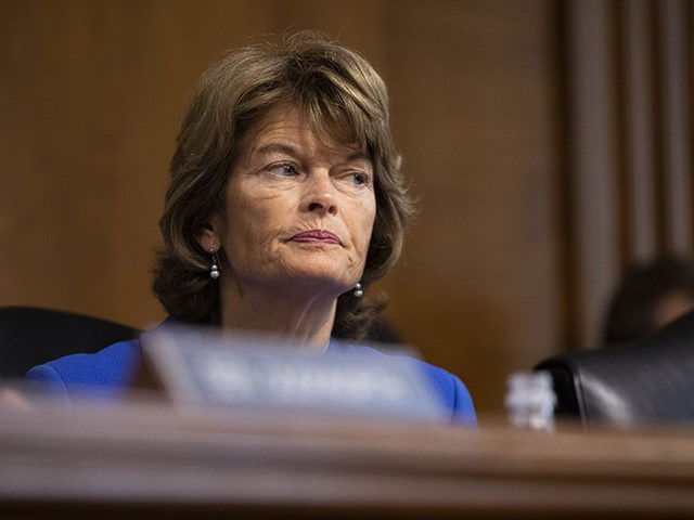 WASHINGTON, DC - SEPTEMBER 25: Sen. Lisa Murkowski (R-AK) chairs a hearing of the Senate Energy and Natural Resources Committee on Capitol Hill, September 25, 2018 in Washington, DC. Christine Blasey Ford, who has accused Supreme Court nominee Brett Kavanaugh of sexual assault, has agreed to testify before the Senate …