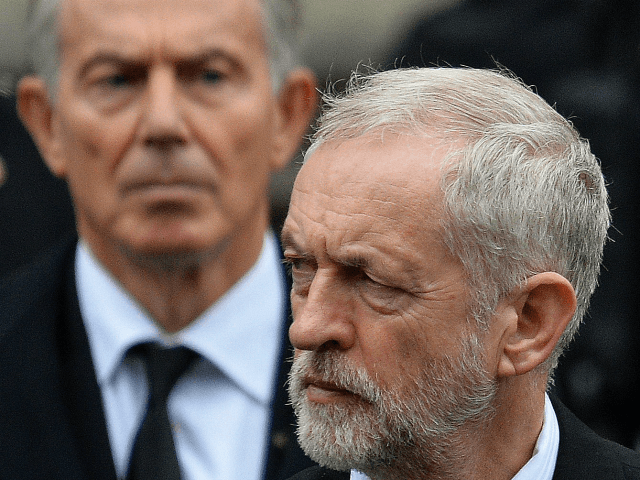 Blair and Corbyn