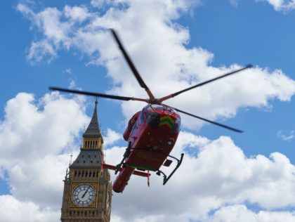 Khan's London: Stabbings, Shootings Now Biggest Share of Air Ambulance Emergencies