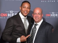 CNN President Jeff Zucker (R) and Don Lemon attend the 10th Annual CNN Heroes All-Star Tribute at the American Museum of Natural History on December 11, 2016 in New York City. / AFP / ANGELA WEISS (Photo credit should read ANGELA WEISS/AFP/Getty Images)