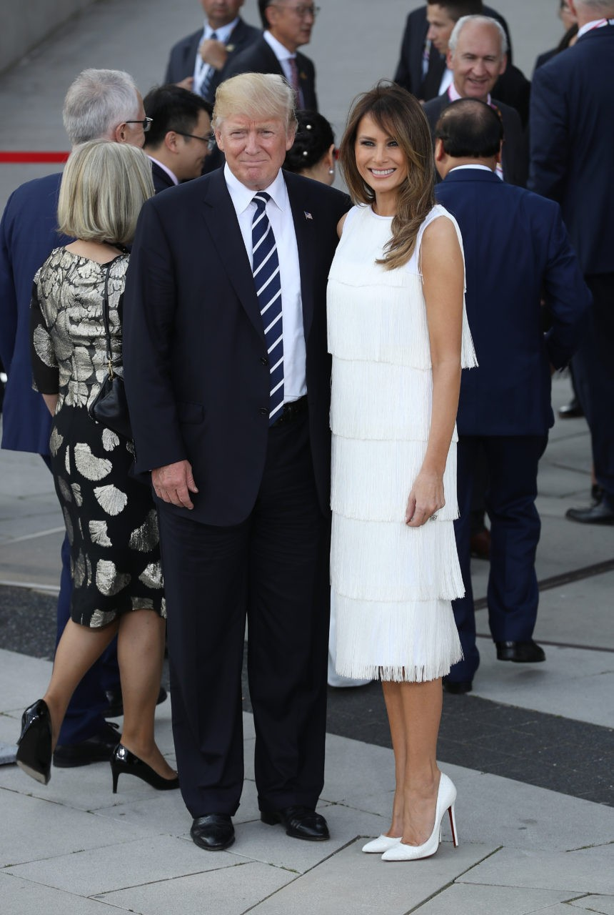 Fashion Notes Melania Trump S 15 Hottest White Looks For
