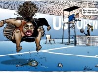 Herald Sun Serena Cartoon