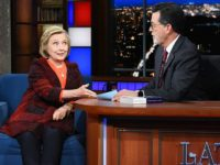 Hillary Clinton to Stephen Colbert: FBI Must Investigate Brett Kavanaugh