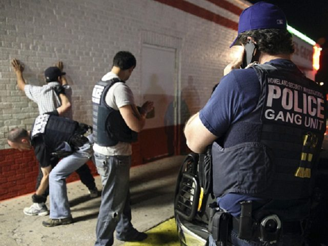 ICE Homeland Security Investigations Agents Arrest Gang Members. (File Photo: U.S. Immigration and Customs Enforcement/Homeland Security Investigations)