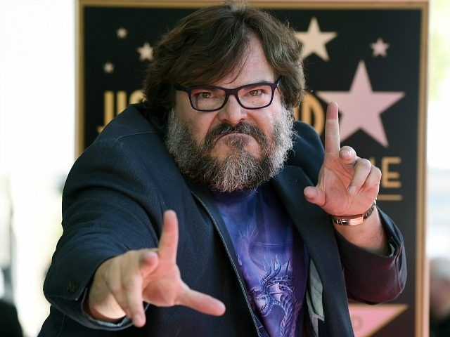Actor Jack Black strikes a pose for photographers during a ceremony to award him a star on the Hollywood Walk of Fame, Tuesday, Sept. 18, 2018, in Los Angeles. (Photo by Chris Pizzello/Invision/AP)