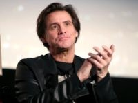 Jim Carrey speaks onstage during 'Jim & Andy: The Great Beyond - Featuring a Very Special, Contractually Obligated Mention of Tony Clifton' at AFI FEST 2017 Presented By Audi at TCL Chinese 6 Theatres on November 13, 2017 in Hollywood, California. (Photo by Christopher Polk/Getty Images for AFI)