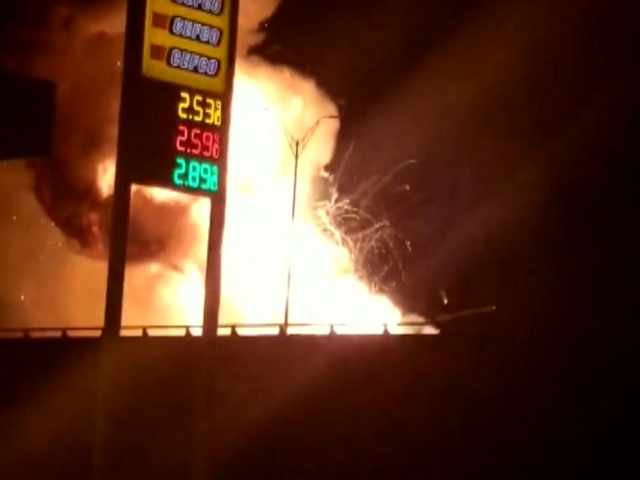 Axe body wash trailer fire.