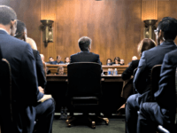 Supreme Court nominee Brett Kavanaugh testifies before the Senate Judiciary Committee on Capitol Hill in Washington, Thursday, Sept. 27, 2018.