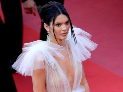 Kendall Jenner attends the screening of 'Girls Of The Sun (Les Filles Du Soleil)' during the 71st annual Cannes Film Festival at Palais des Festivals on May 12, 2018 in Cannes, France. (Photo by Andreas Rentz/Getty Images)