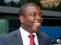 Former UBS trader Kweku Adoboli arrives at Southwark Crown Court, in central London, on September 10, 2012. A trader accused of losing $2.3 billion in a fraud at Swiss bank UBS goes on trial in London on Monday in a case expected to once again put the supervision of bankers …