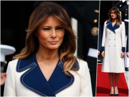 First Lady Melania Trump channeled former First Lady Jackie Kennedy …
