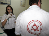 Israeli-Russian Yulia Tskhay, 17, a fully trained medic is seen at the Magen David Adom (MDA) center 05 September 2006, in her hometown of Tiberias on the shores of the Sea of Galilee. In Israel, where life is regulated by security alerts and years of conflict, thousands of teenagers spend …