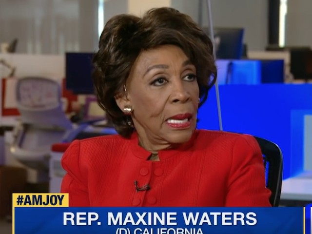 Maxine Waters: Kavanaugh 'Should Not Be Confirmed' --- He Is Trump's 'Puppet'