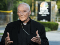 Cardinal Theodore McCarrick, retired Archbishop of Washington, announced he was stepping down from the ministry Wednesday amid allegations of sexual abuse. File photo by Patrick D. McDermott/UPI