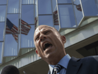 Attorney Michael Avenatti, who represents adult film actress Stormy Daniels, speaks to reporters during a break in a motions hearing on July 27, 2018 in Los Angeles, California. Daniels, whose real name is Stephanie Clifford, is suing President Donald Trump and his former personal attorney, Michael Cohen, claiming that she …