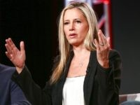 Mira Sorvino of the television show 'Condor' speaks onstage during the AT&T AUDIENCE Network 2018 Winter TCA on January 11, 2018 in Pasadena, California. (Photo by Rich Fury/Getty Images for DIRECTV)