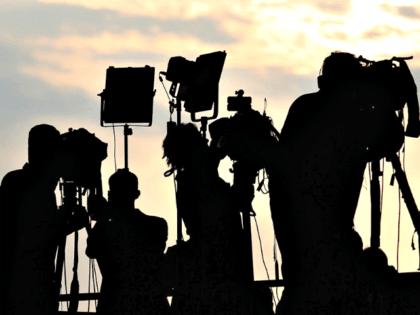 News Cameras Silouette