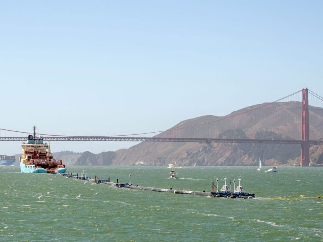 Ocean Cleanup (Josh Edelson / Getty)