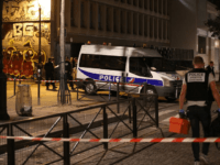 French police is on the scene where a man attacked and injured people with a knife in the streets of Paris in the 19th arrondissement on September 9, 2018. - Seven people including two British tourists were wounded Sunday in Paris after they were attacked by a man armed with …